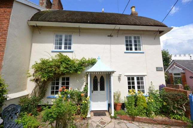Thumbnail End terrace house for sale in Coburg Road, Sidmouth, Devon