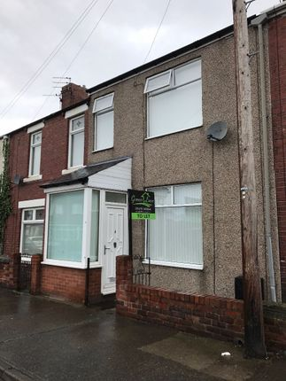 Thumbnail Terraced house to rent in Mowbray Terrace, Choppington