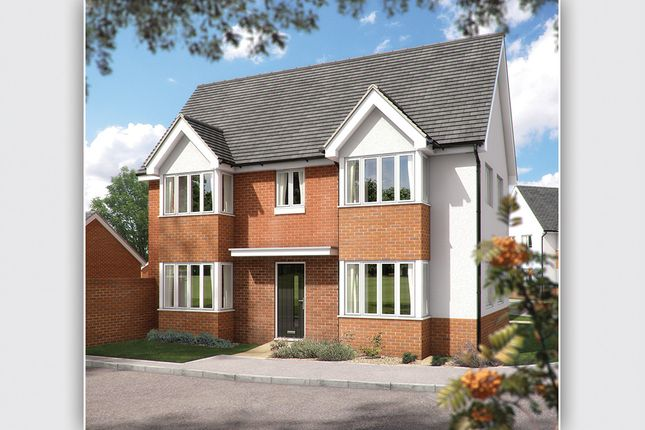 """Thumbnail Semi-detached house for sale in """"The Sheringham"""" at Chard Road, Axminster"""
