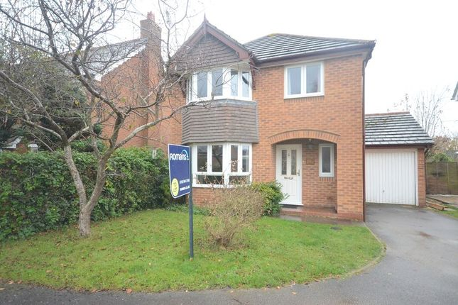 Thumbnail Detached house to rent in Hurricane Way, Woodley, Reading