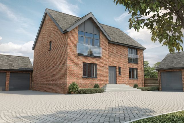 Thumbnail Detached house for sale in Hampton Gate, Friday Lane, Solihull
