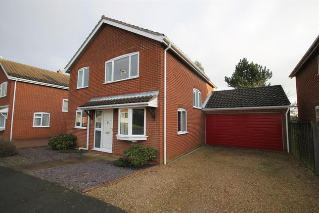 Thumbnail Detached house for sale in Buckland Rise, Norwich