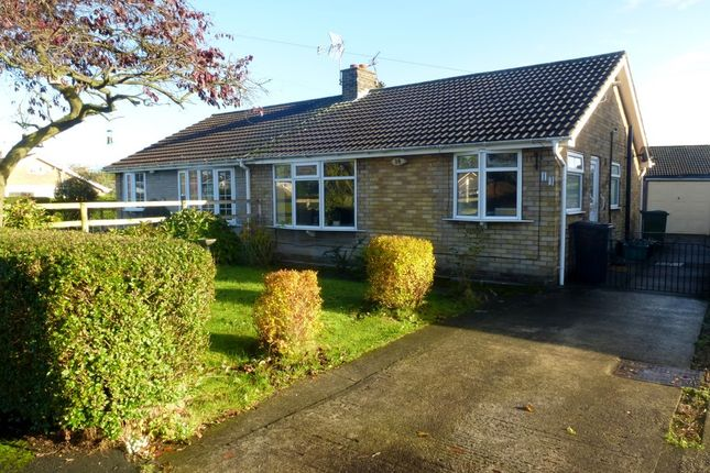Thumbnail Semi-detached bungalow to rent in Mallard Way, Haxby, York