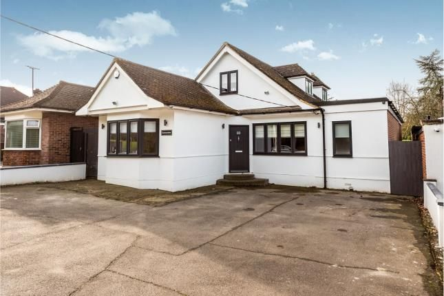 Thumbnail Bungalow for sale in Stapleford Abbotts, Romford, Havering