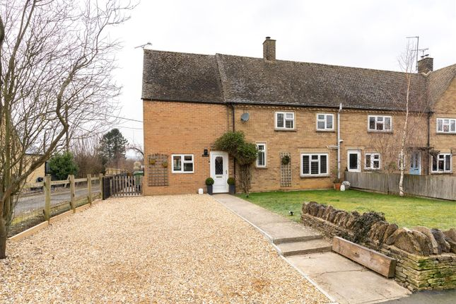 Thumbnail End terrace house for sale in Greens Close, Great Rissington, Gloucestershire