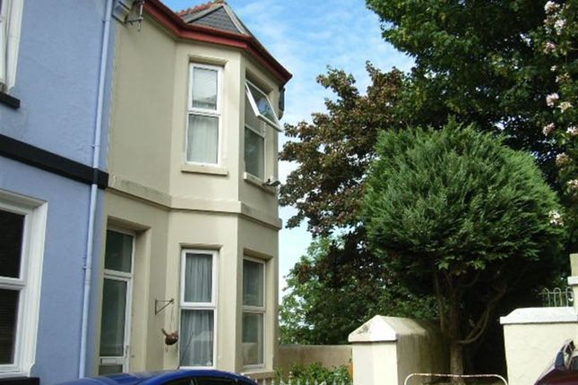 Thumbnail Terraced house to rent in Pellow Place, Stoke, Plymouth