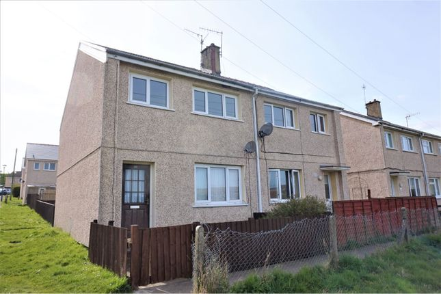 Thumbnail End terrace house for sale in Brynawelon, Ebbw Vale