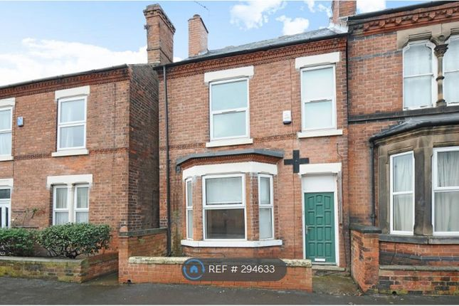 Thumbnail Semi-detached house to rent in Montpelier Road, Nottingham