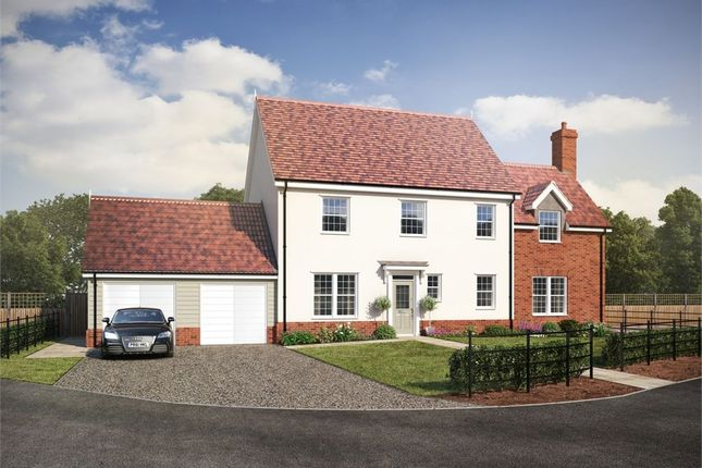 Thumbnail Detached house for sale in Bucklesham Road, Foxhall, Ipswich