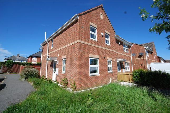 Semi Detached House For Sale In Parkside Gardens, Widdrington, Morpeth