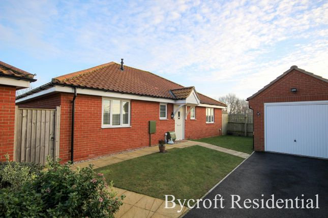 Thumbnail Detached bungalow for sale in Sundew Close, Caister-On-Sea, Great Yarmouth