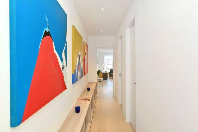Hallway of Paintworks, Kingsland Road, London E2