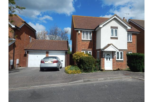 Thumbnail Detached house for sale in Cheltenham Close, Gravesend