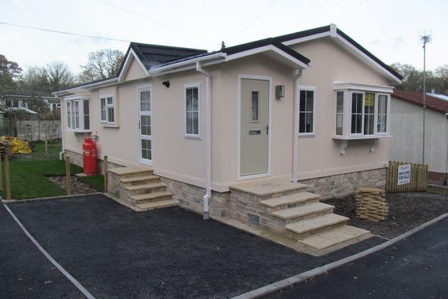 Thumbnail Mobile/park home for sale in Silent Woman Park (Ref 5759), Wareham, Dorset