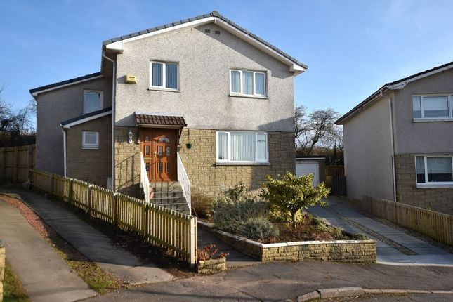 Thumbnail Detached house for sale in Thorniewood Gardens, Uddingston, Glasgow