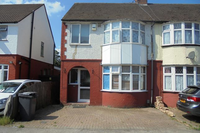 Thumbnail Semi-detached house to rent in Chester Ave, Luton