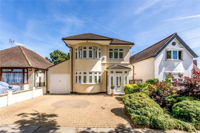 Thumbnail Detached house for sale in Rosewood Drive, Enfield