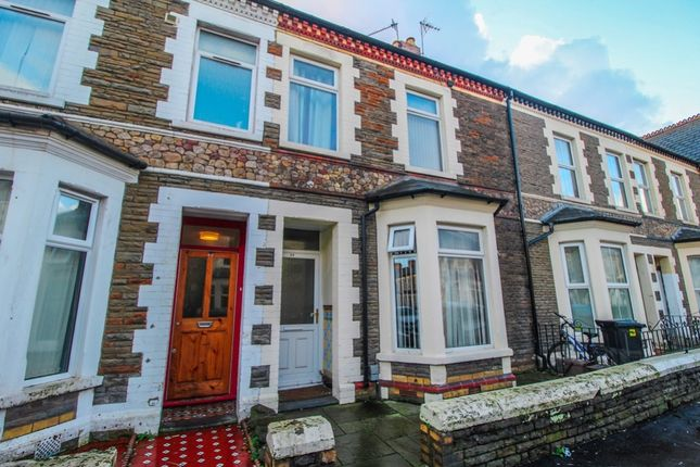 Thumbnail Terraced house for sale in Moy Road, Roath, Cardiff