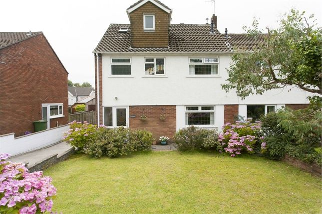 Thumbnail Semi-detached house for sale in Pencoed Avenue, Pontypridd, Mid Glamorgan