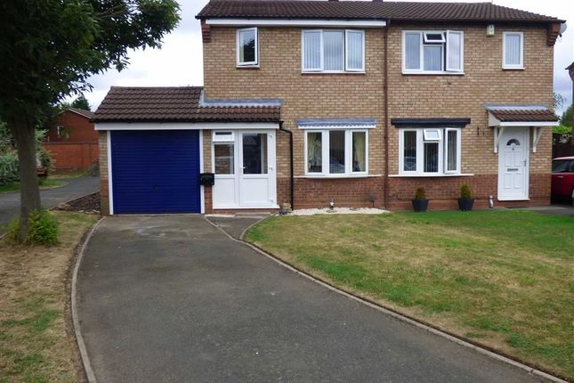 Thumbnail Semi-detached house for sale in Tyning Close, Pendeford, Wolverhampton