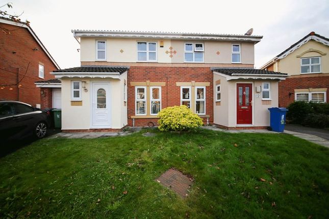 Thumbnail Semi-detached house for sale in Newhouse Drive, Winstanley, Wigan