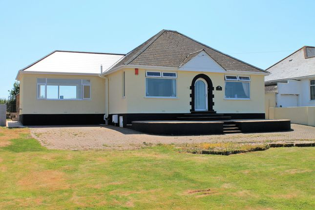 Thumbnail Detached bungalow for sale in Renney Road, Heybrook Bay, Plymouth