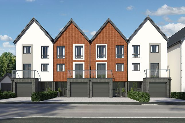 "Thumbnail End terrace house for sale in ""Afon Tawe"" at Llantrisant Road, Cardiff"