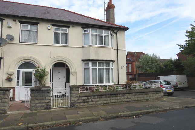 Thumbnail Semi-detached house for sale in Grange Road West, Prenton