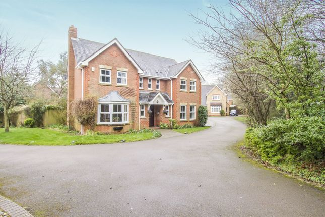 Thumbnail Detached house for sale in Quickthorns, Oadby, Leicester