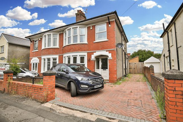Thumbnail Semi-detached house for sale in Pum Erw Road, Heath, Cardiff