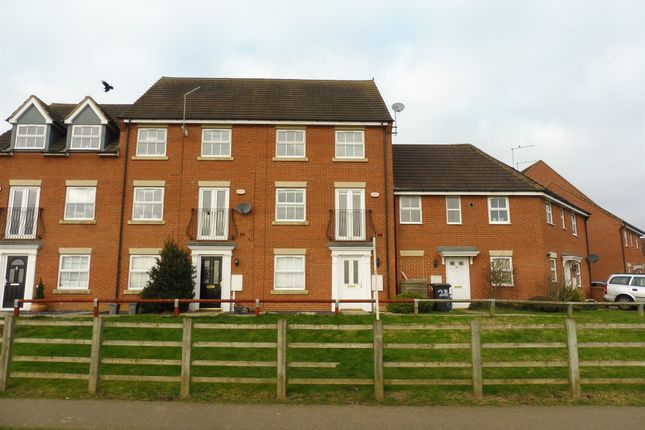 Thumbnail Town house for sale in Romulus Close, Wootton, Northampton