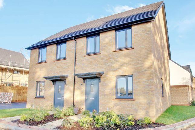 Thumbnail Semi-detached house for sale in Plot 83, St Thomas Park, Ramsey