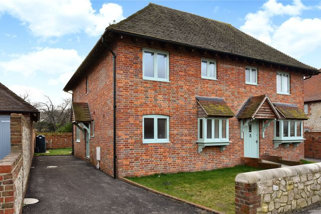 Thumbnail Semi-detached house for sale in Church Street, Amberley, Arundel, West Sussex