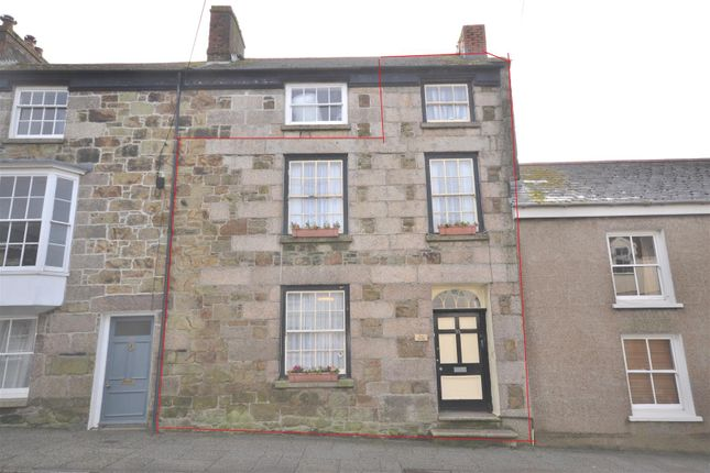 Thumbnail Terraced House For Sale In Wendron Street Helston
