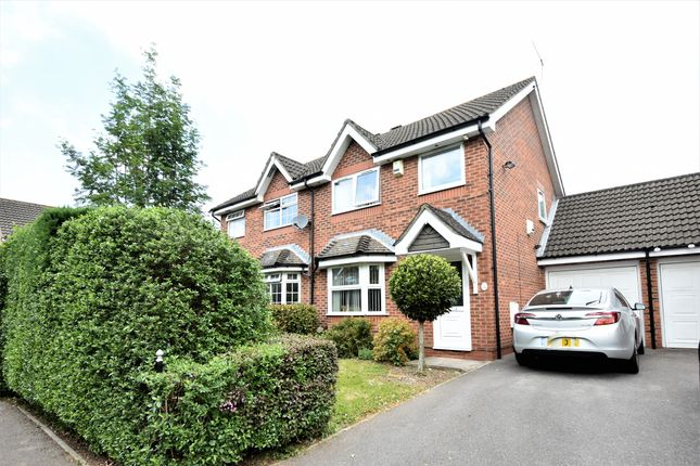 Thumbnail Semi-detached house for sale in Chelveston Crescent, Southampton, Hampshire