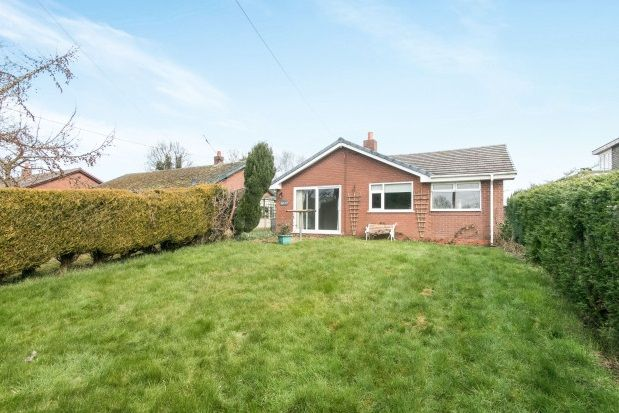 Thumbnail Bungalow to rent in Pool Lane, Thornton-Le-Moors, Chester