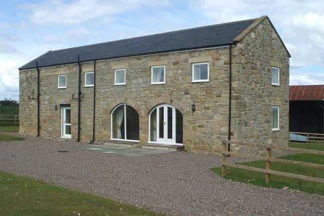 Thumbnail Barn conversion to rent in Mitford, Morpeth