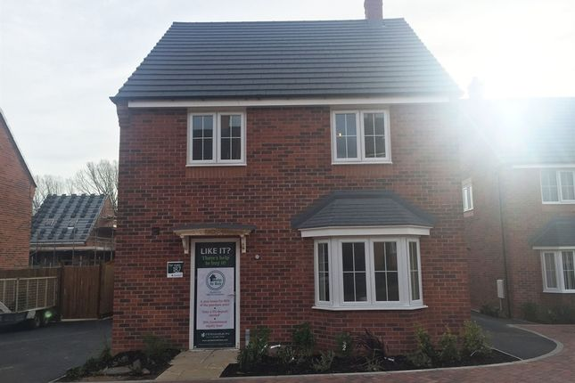 "Thumbnail Detached house for sale in ""The Castle"" at Valley Road, Overseal, Swadlincote"