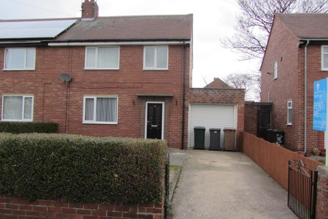 Thumbnail Semi-detached house to rent in Archer Street, Wallsend