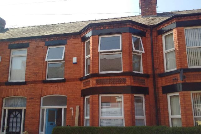 Thumbnail Terraced house to rent in Berbice Road, Mossley Hill Liverpool