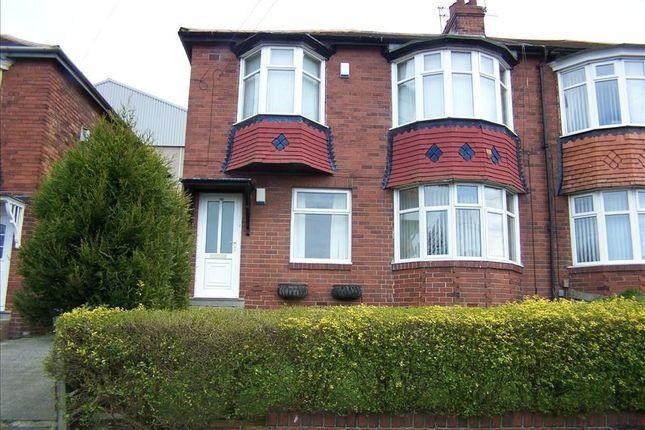 Thumbnail Flat to rent in Ovington Grove, Fenham, Newcastle Upon Tyne