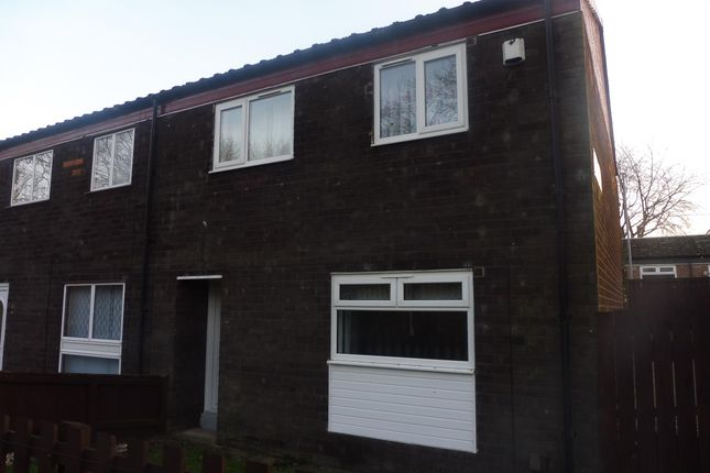 3 bed end terrace house to rent in Doxford Walk, Hemlington, Middlesbrough TS8