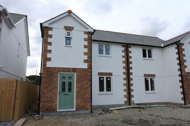 Thumbnail Semi-detached house for sale in Wheal Rose, Roche Road, Bugle, Cornwall
