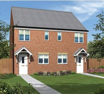 "2 bed terraced house for sale in ""The Moulton"" at Front Street, Fleming Field, Shotton Colliery, Durham"