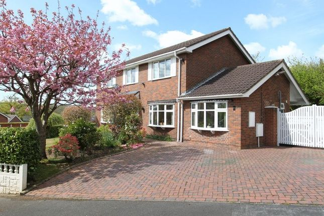 Thumbnail Detached house for sale in Fermain Close, Newcastle-Under-Lyme