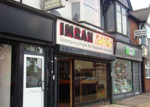 Thumbnail Commercial property for sale in Imran Balti Hut, 285 Wellingborough Road, Northampton