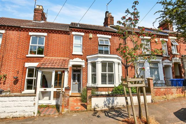Thumbnail Terraced house for sale in Glebe Road, Norwich
