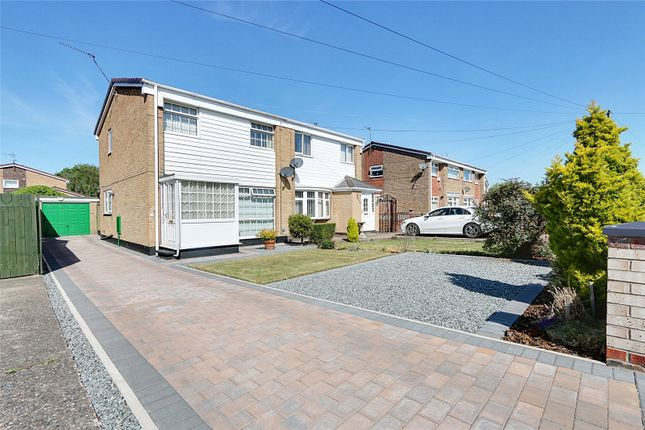 Thumbnail Semi-detached house for sale in Downfield Avenue, Hull, East Riding Of Yorkshi