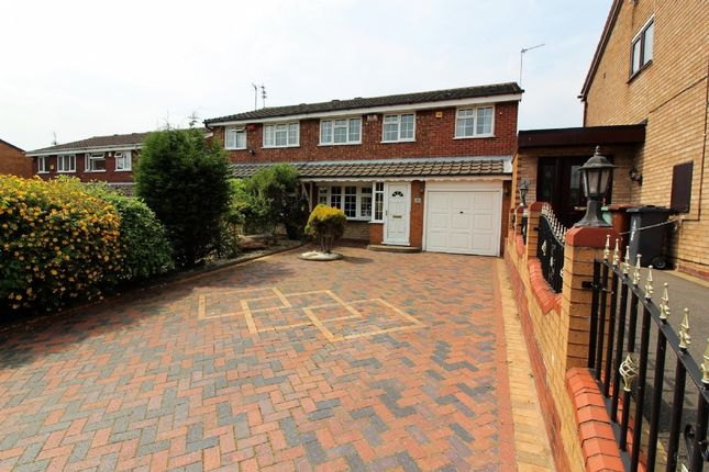 Thumbnail Semi-detached house for sale in Western Close, Walsall