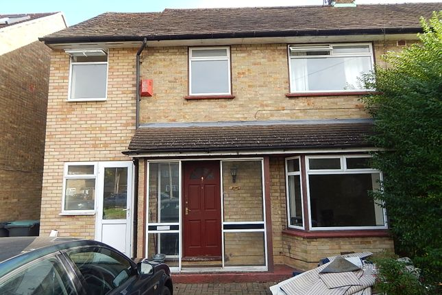 Thumbnail Semi-detached house to rent in Cades Close, Luton